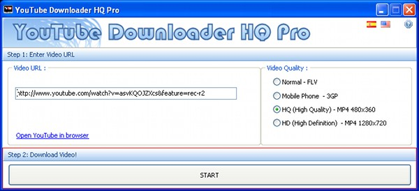 YouTube Downloader HQ Pro